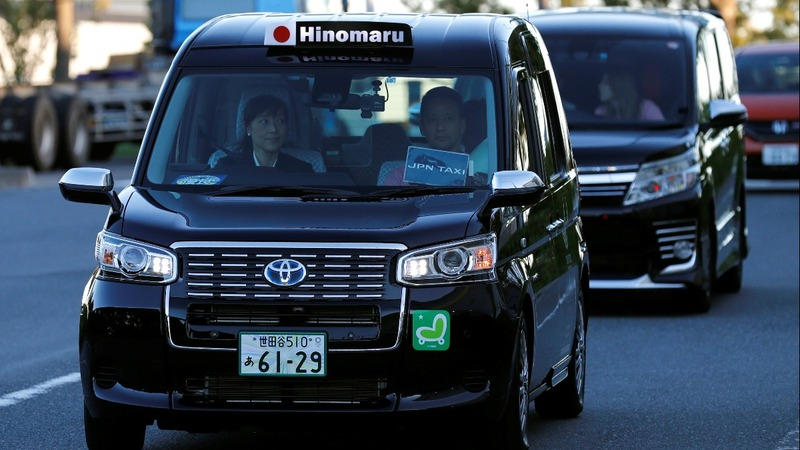 Tokyo brushes up its taxi fleet for Olympics