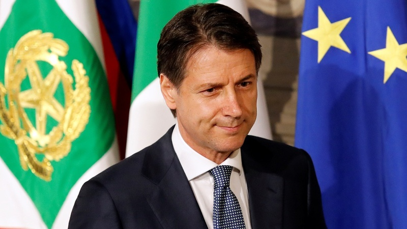 Political novice Conte named Italy's new PM