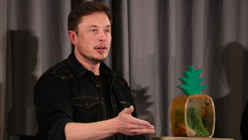Elon Musk takes aim at the media