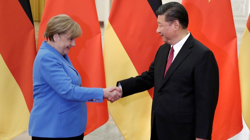 Germany woos China trade as Trump tests both