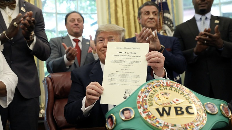 Trump pardons 1908 heavyweight champ Jack Johnson