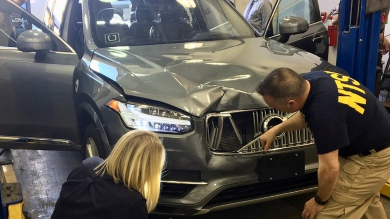 Uber disabled emergency brakes in self-driving crash: NTSB