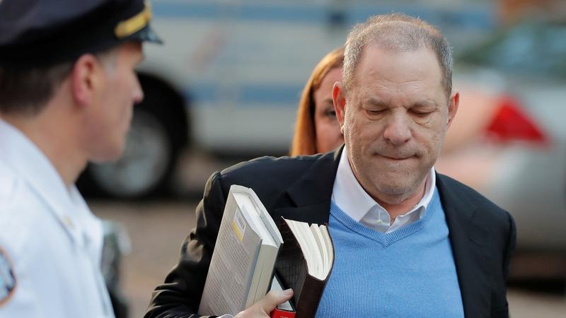 Weinstein surrenders to police