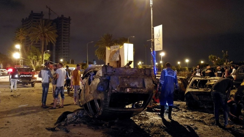 Car bomb kills at least seven in Libya's capital
