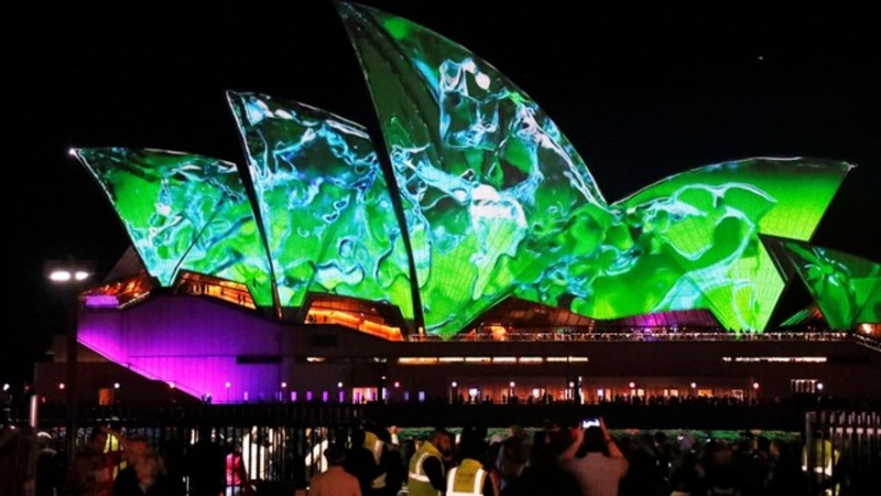 INSIGHT: Vivid Light Festival bathes Sydney in colour