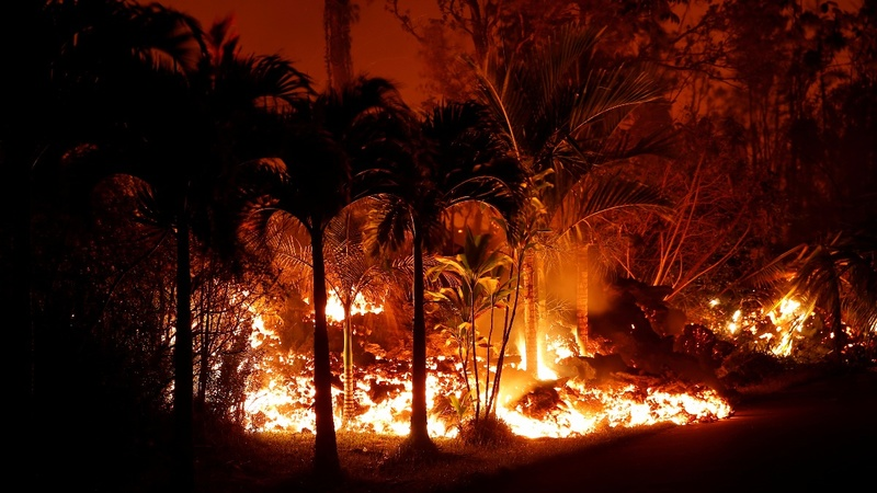 INSIGHT: Hawaii volcano lava flow consumes homes