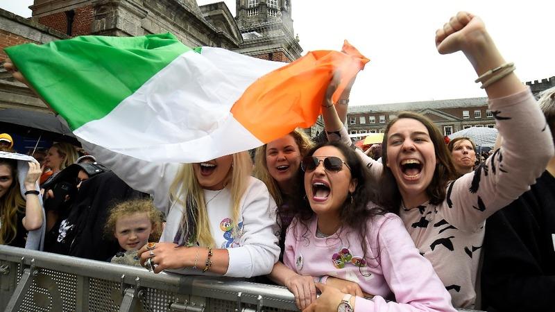 VERBATIM: Irish PM hails end of abortion ban