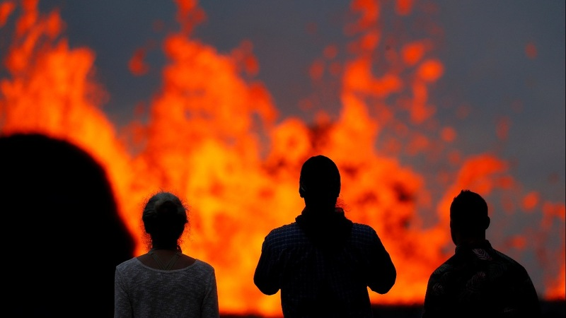 Lava reaches Hawaiian geothermal plant