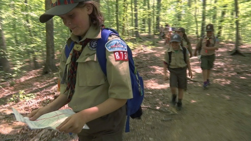 Girl dens blaze fresh trail into Boy Scouts
