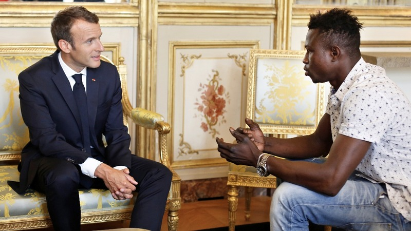France offers citizenship to 'Spider-Man' migrant