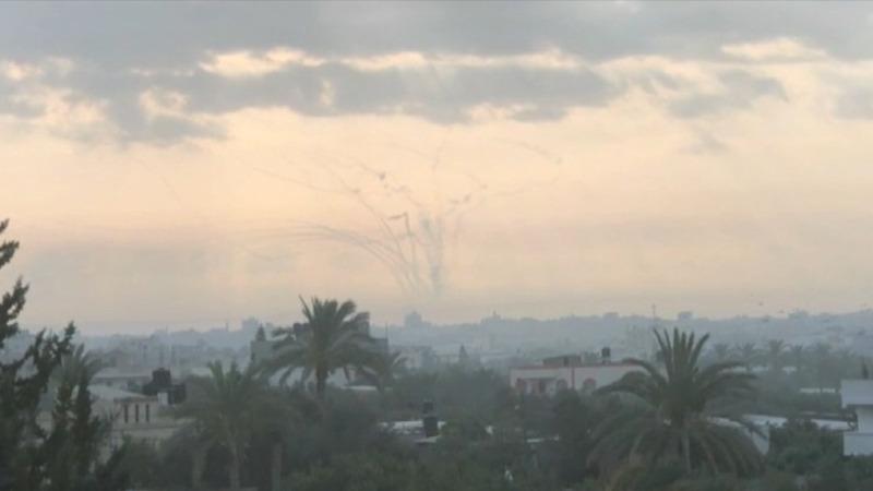 Israel shoots down heavy Gaza mortar fire