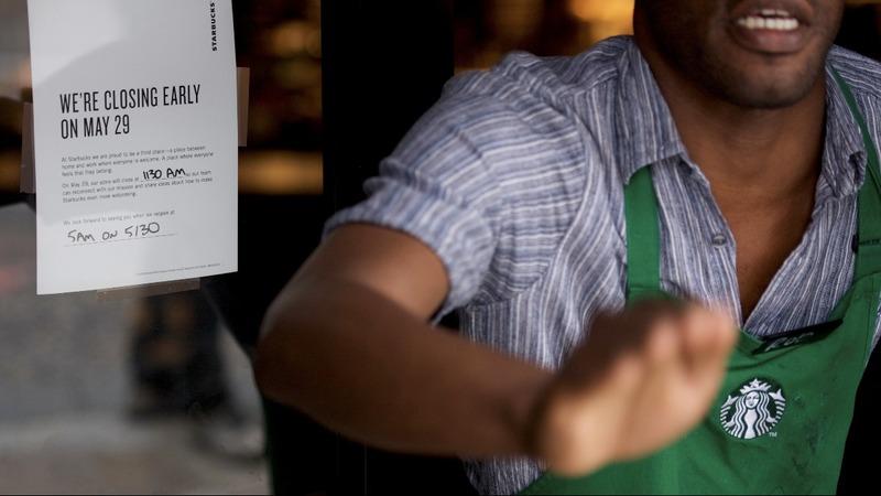 Starbucks closes 8,000 stores for anti-bias training