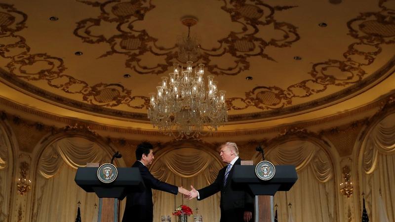 Despite close ties, Trump gives Abe a hard time
