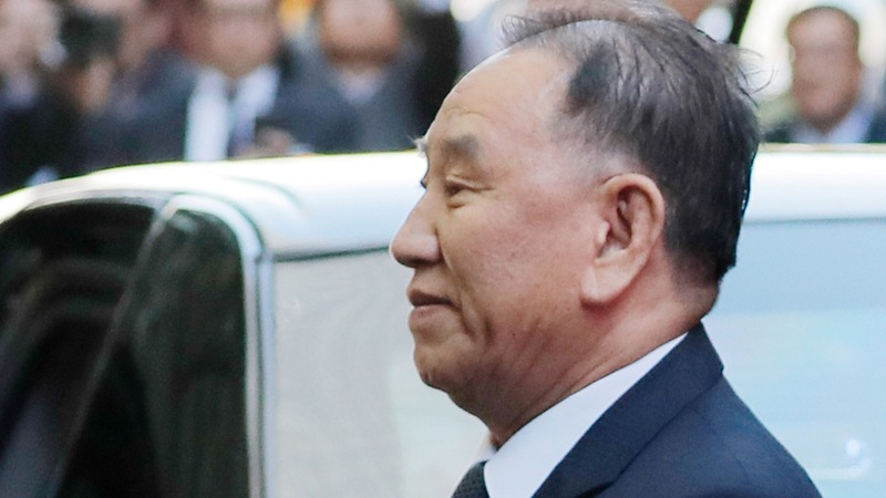 Top North Korean official makes rare visit to U.S.