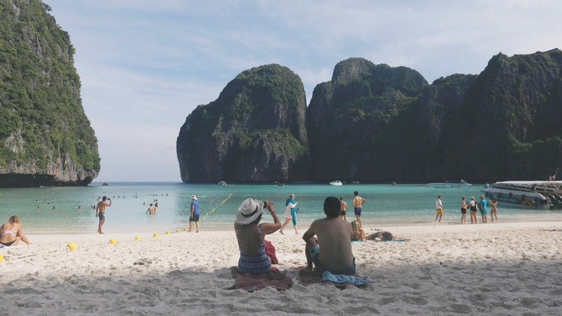Thai bay famous from 'The Beach' film closes