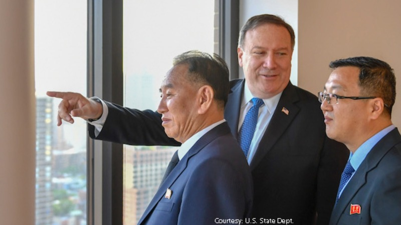 U.S., North Korea meet in New York for second day