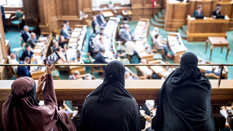 Denmark bans full-face Muslim veil in public