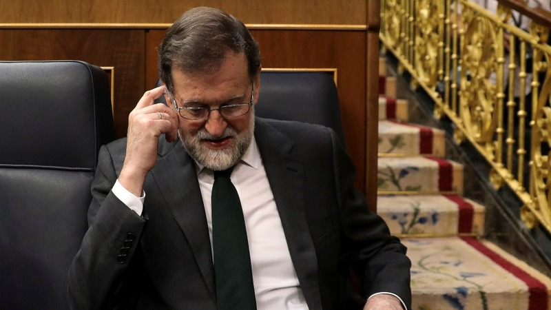 Spanish PM Rajoy is booted out of office