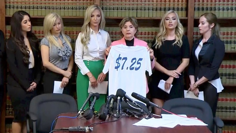 Former Texans' cheerleaders sue for discrimination
