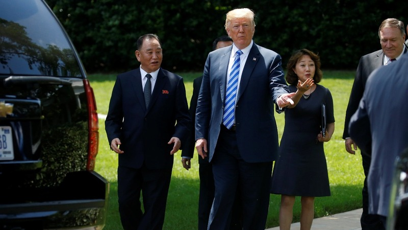 Trump says North Korea summit is back on