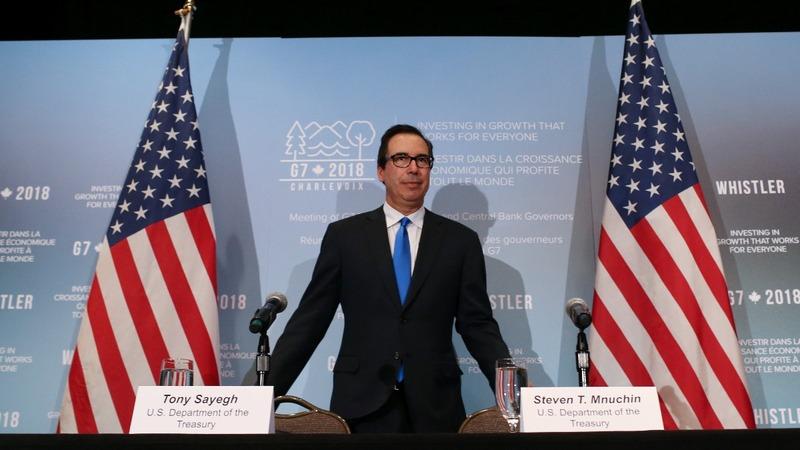 VERBATIM: Mnuchin defends U.S. leadership on economy