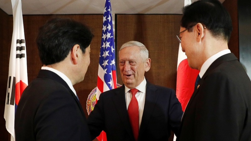 No relief for NK without steps to denuclearize: Mattis