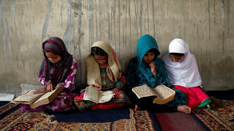 Nearly half of Afghan children out of school