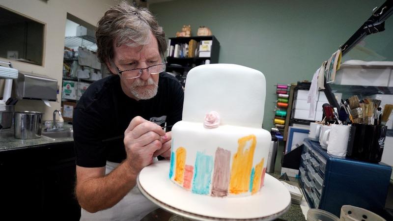 Supreme Court rules for baker in same-sex case