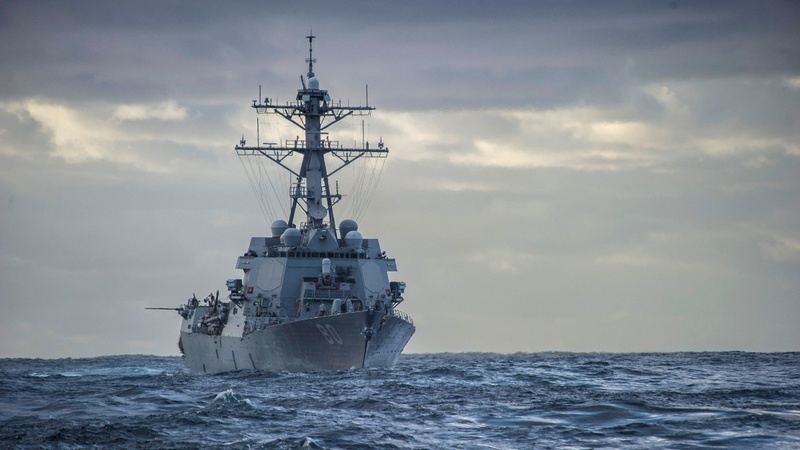 U.S. weighs Taiwan Straits warship passage