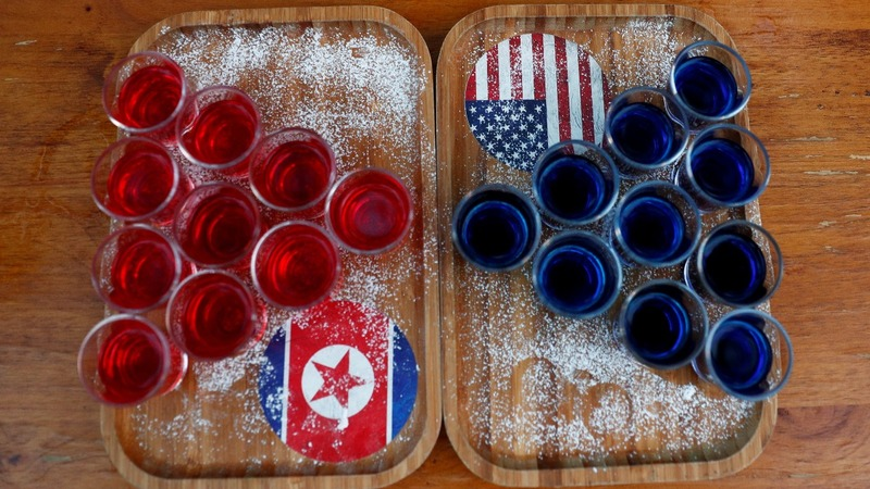 Singapore nightspot invents Trump-Kim cocktail