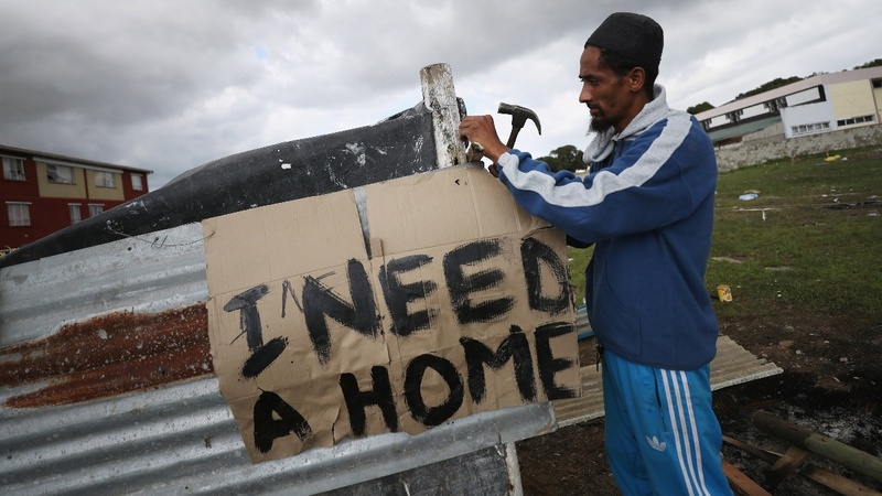South Africa's poor yearn for land reform
