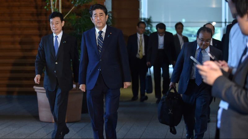 Shinzo Abe seeks U.S. assurances on N. Korea