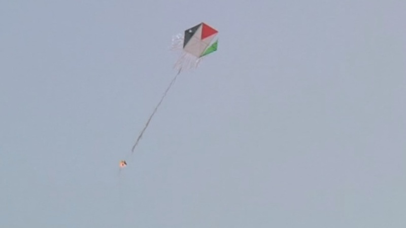 Israel under attack from Gaza 'fire kites'