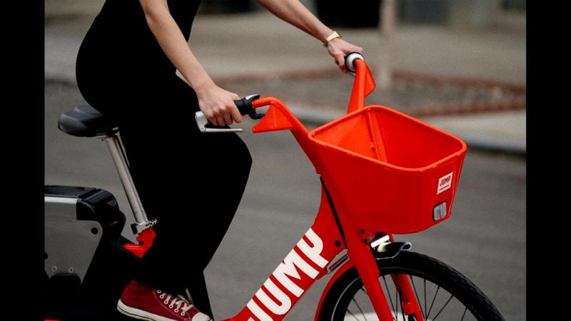 Uber tries to win over Europe with bike-sharing