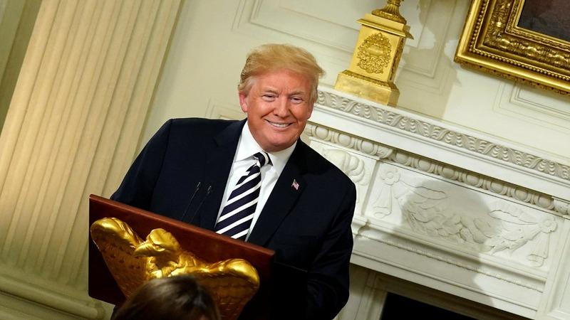 VERBATIM: Trump hosts White House Iftar dinner