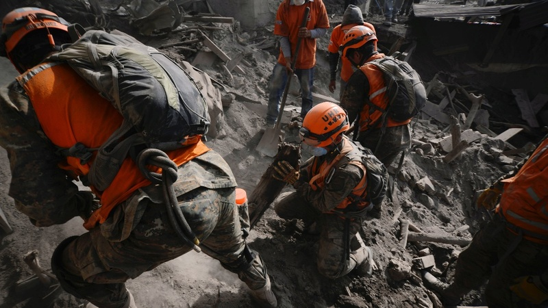 Death toll climbs to 99 in Guatemala eruption