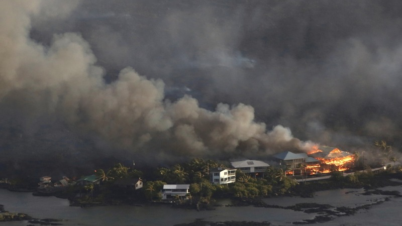 Lava wipes out hundreds of homes in Hawaii
