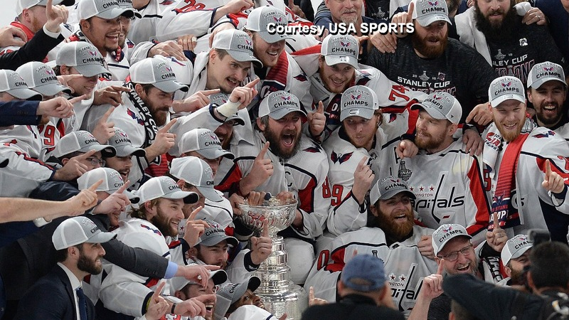 Washington Capitals take home the Stanley Cup
