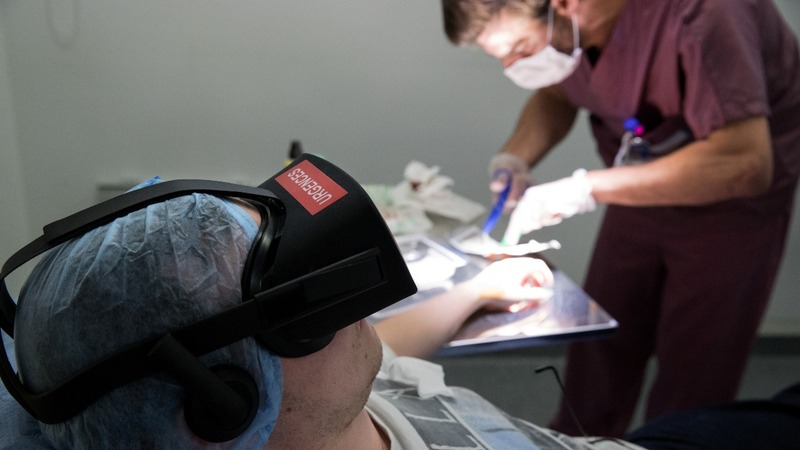 Virtual Reality to take the hospital pains away?