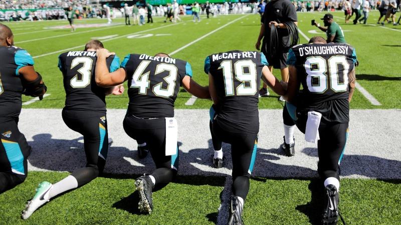 VERBATIM: Trump asks NFL kneelers for pardon ideas