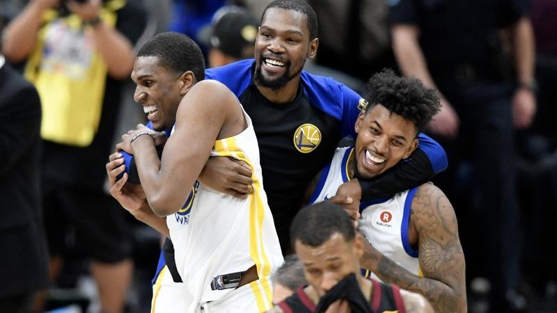 Warriors sweep Cavs as LeBron ponders future