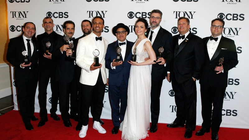 'The Band's Visit' sweeps the Tony Awards