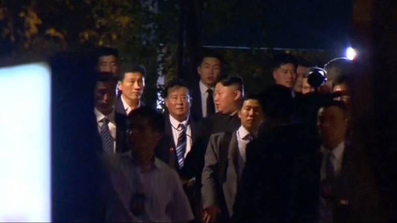 Kim Jong Un relishes his 'celebrity' in Singapore