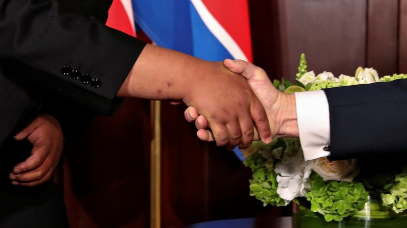 INSIGHT: Trump and Kim wind up Singapore summit