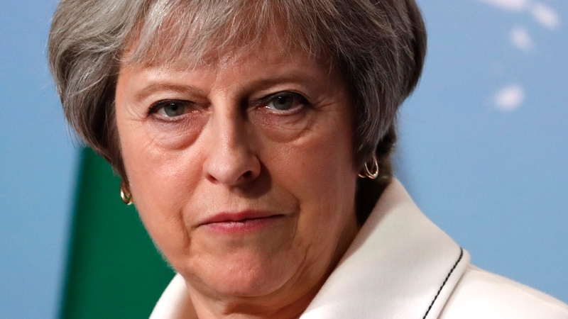 May faces Brexit showdown with own party