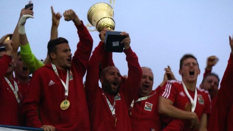 "Ukraine accuses soccer champions of ""separatism"""