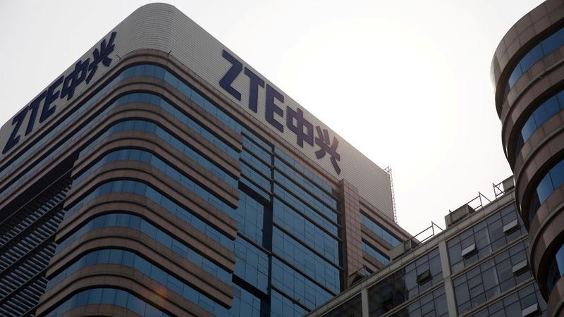 ZTE shares plummet 40% after U.S. sales ban