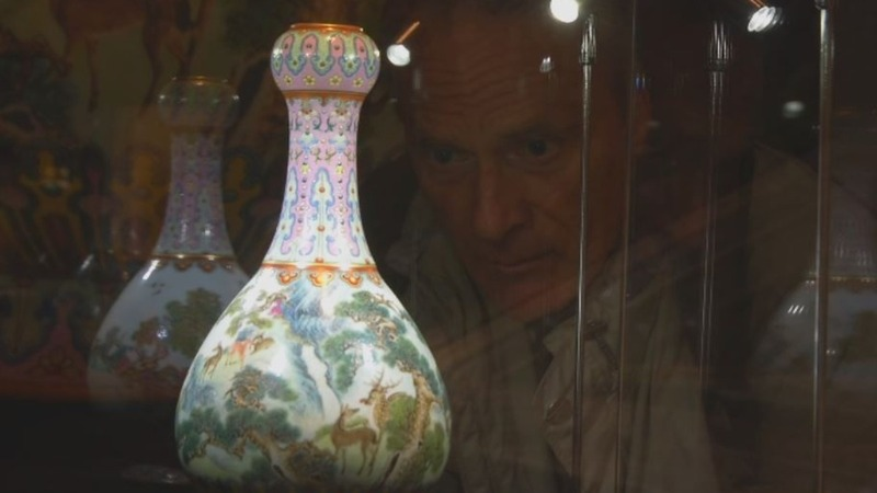 Vase found in shoebox fetches $19 mln