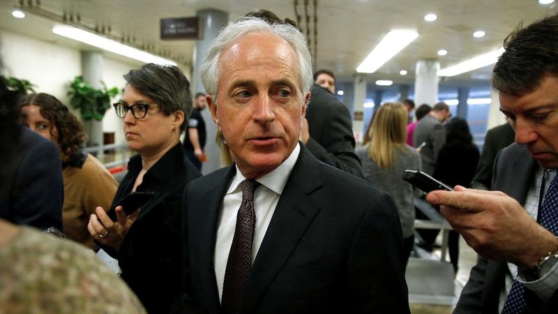 VERBATIM: Corker scolds GOP for bowing to Trump on tariffs