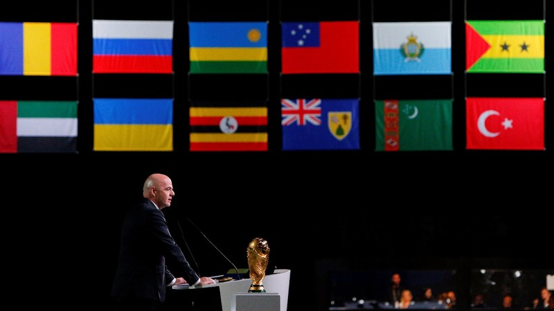 U.S., Mexico and Canada to host World Cup 2026